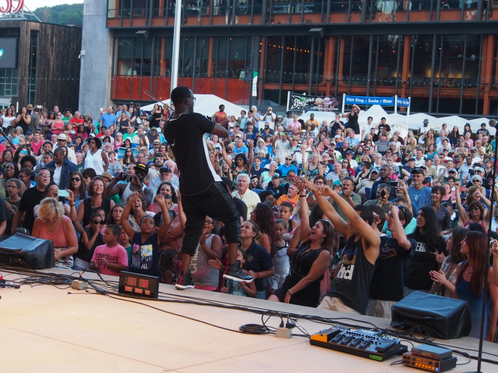 Levitt Pavilions National Tour: Black Violin: Saturday, July 11, 2015